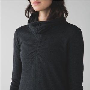 Lululemon In A Cinch Reversible Pullover Striped